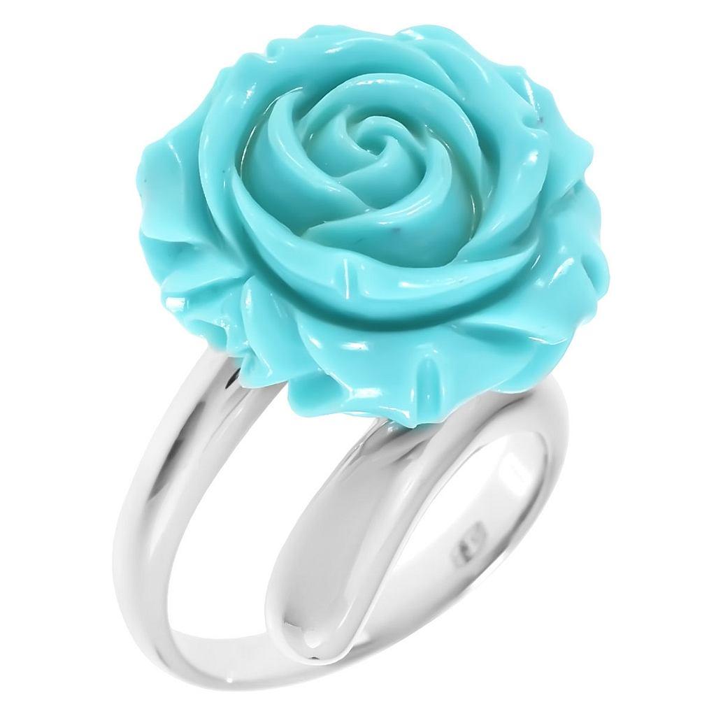 кольца с бирюзой